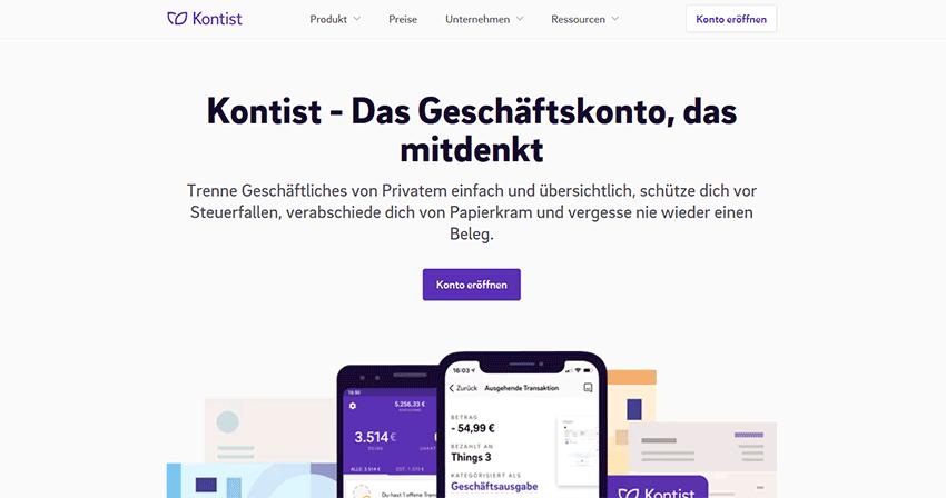 Ein Beispiel für gute Homepage Inhalte