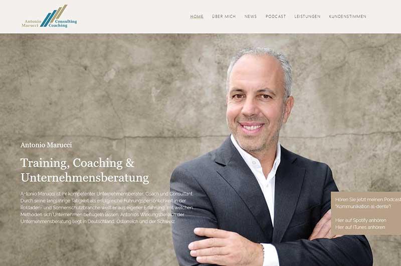 Website Konzept - die Bildauswahl