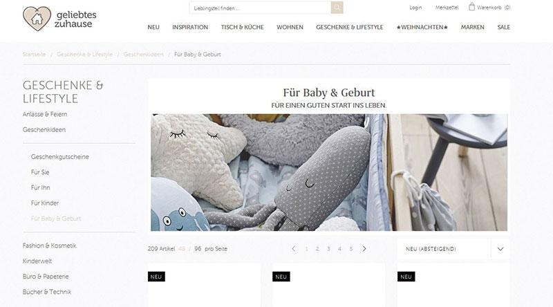 Website Konzept - das Sidebar Menü