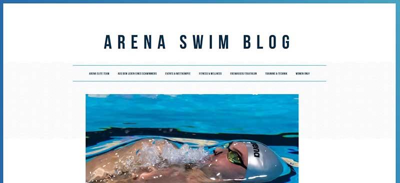 Der Arena Swimblog