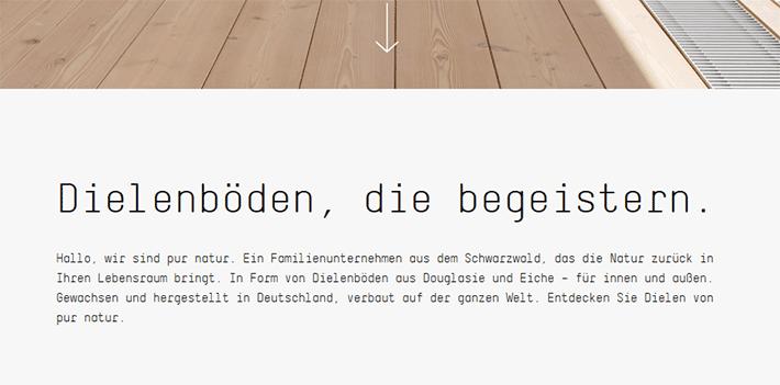 Ein Elevator Pitch ist ein wichtiger Inhalt für die Homepage