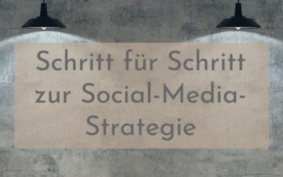 Eine clevere Social-Media-Strategie entwickeln – in 10 Schritten