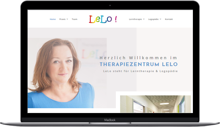 Webdesign Referenz - Therapiezentrum LeLo